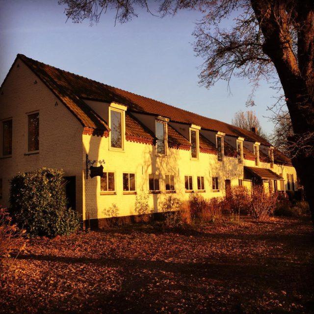 hoffenterhof in een mooie herfstige namiddagzon goldenlight autumn herfst limburghellip