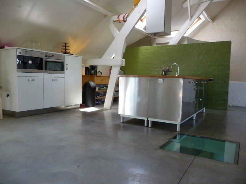 Open keuken in de Loft