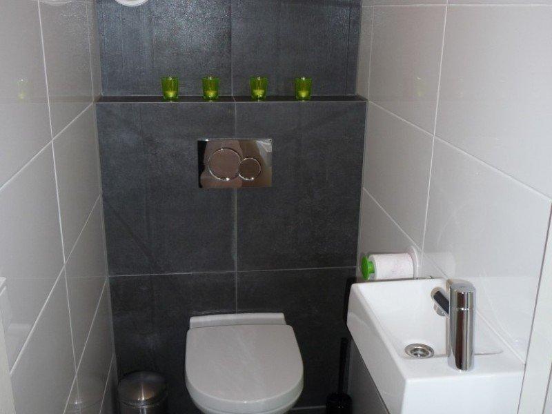 Seperaat toilet bij de slaapkamers
